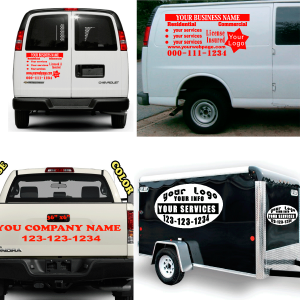 Vehicles Decals